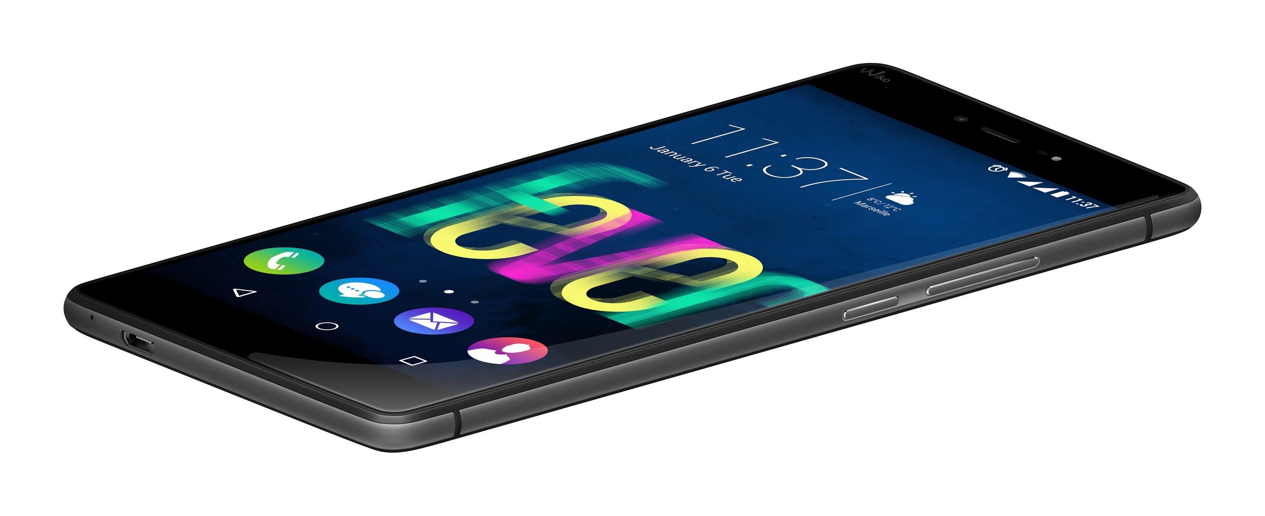 Wiko presenta fever lo smartphone che illumina la notte for Italia mobile