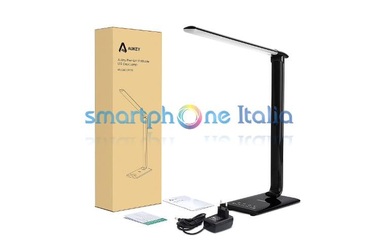 Recensione aukey lampada da tavolo 12w by smartphone italia